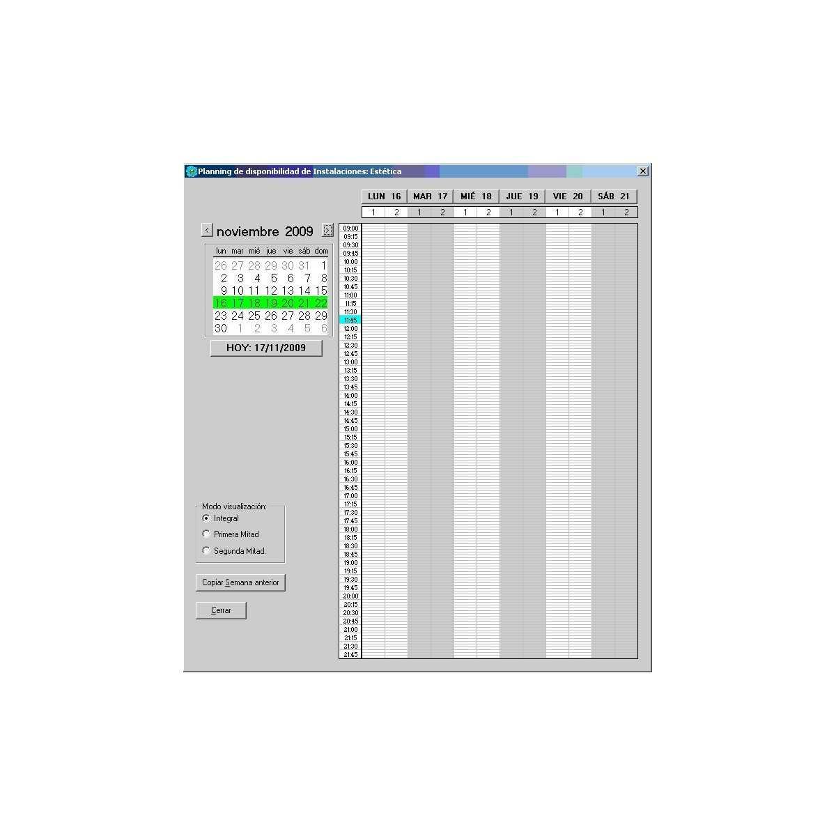 Completo di Software di gestione di centri abbronzatura - Sistemi di controllo -
