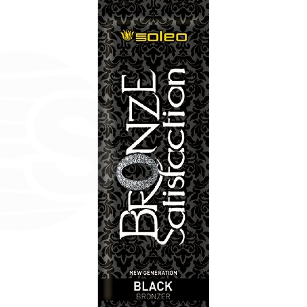 Bronze Satisfaction Black 15ml - Soleo