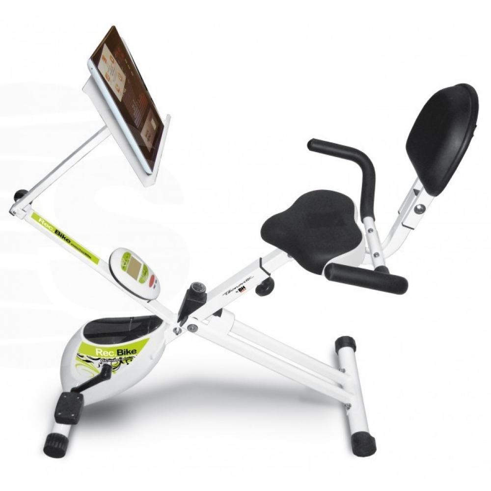 Bicicleta estatica plegable Recumbent