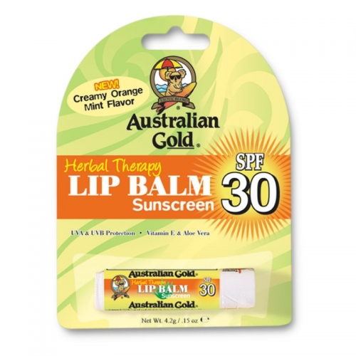 Australian Gold Lip Balm (Lip gloss) with SPF 30 - Sticks - Australian Gold