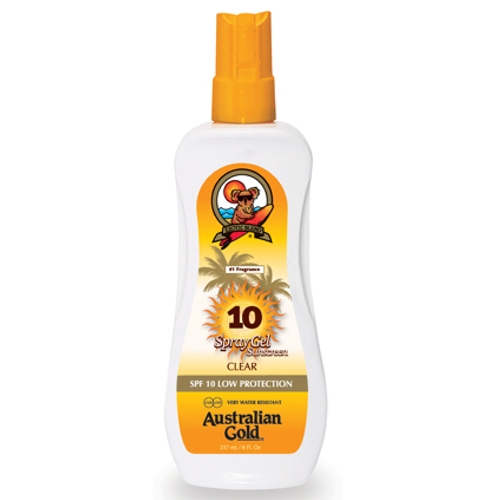 Australian Gold - SPF 10 Spray Gel - sunmarket