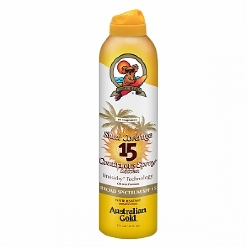 Australian Gold Premium Coverage SPF 15 Cont Spray