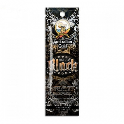 Sinfully Black 15ml - Australian Gold - Single Serving Packs - Australian Gold