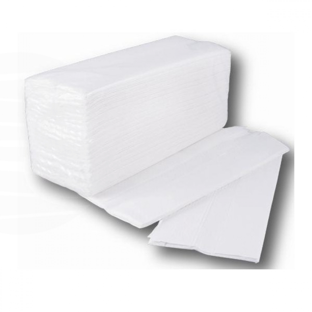 Towels ZIG-ZAG Tissue Embossing,Box of 20 packs, 150 und - Disposable - i-Medstetic