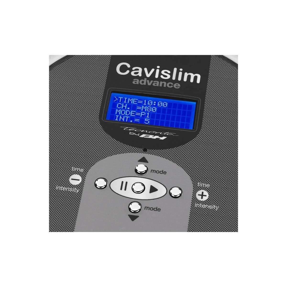 Cavitacion cavislim anticipo con un doppio manipolare, e in modalità continua e pulsata
