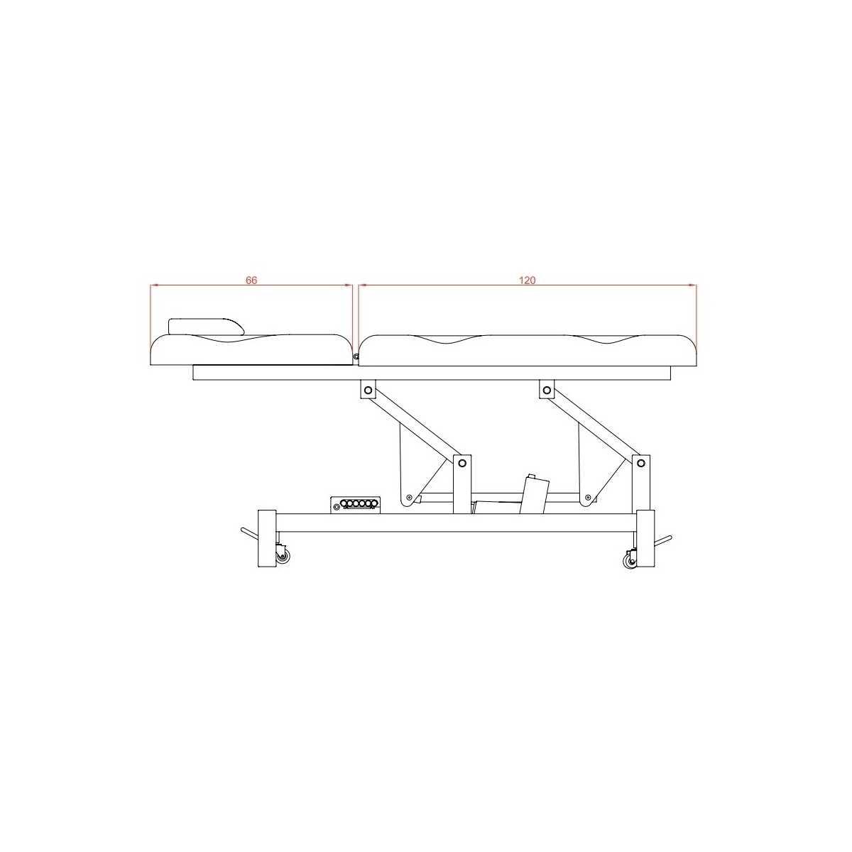 Camilla eléctrica Extreme Plus - Camillas eléctricas - Weelko