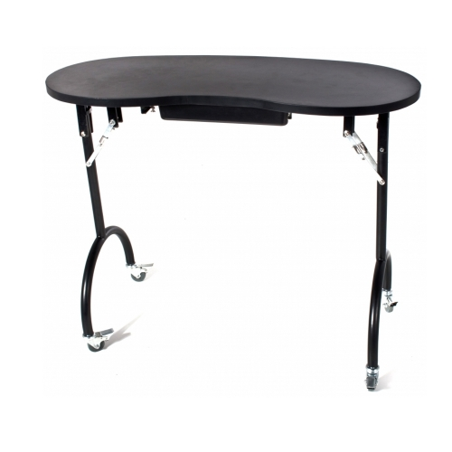 Table for manicure, foldable and easy to transport