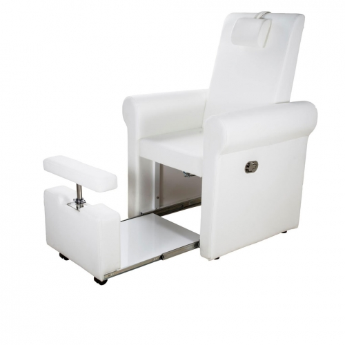 Lumina Cadeira de pedicure Spa Multifuncional Branco
